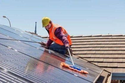 manutenzione pulizia pannelli fotovoltaici